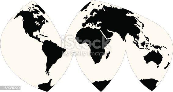 World map in vector format stock vector art more images of world map in vector format stock vector art more images of abstract 165026200 istock gumiabroncs Gallery