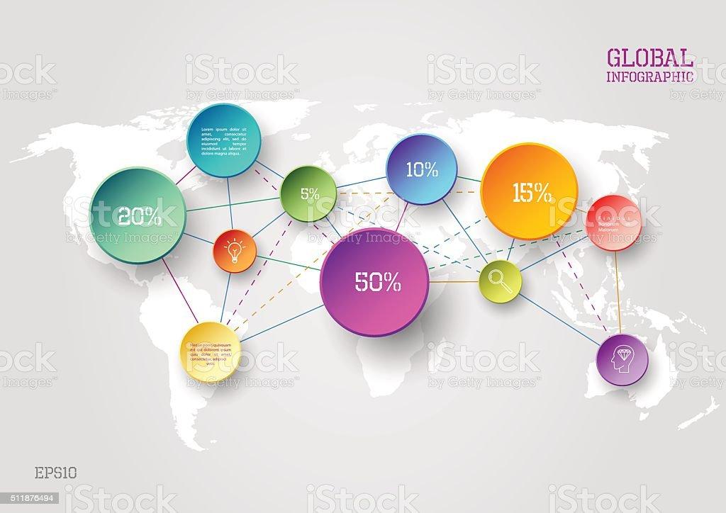 Mapa mundial concepto de infografa arte vectorial de stock y ms mapa mundial concepto de infografa mapa mundial concepto de infografa arte vectorial de stock y gumiabroncs Images