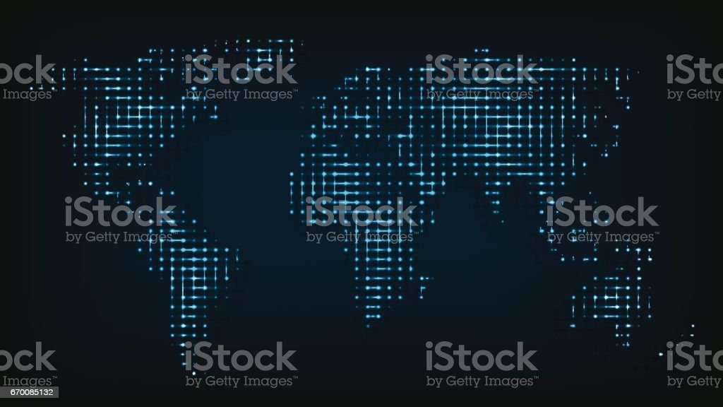 World map isolated from night lights abstract vector illustration world map isolated from night lights abstract vector illustration illustracion libre de derechos libre de gumiabroncs Image collections