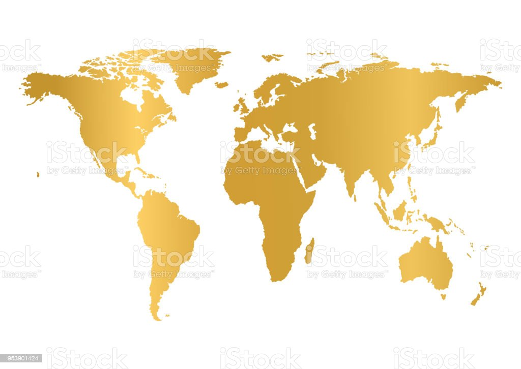 World map isolated on white background earth globe icon vector stock world map isolated on white background earth globe icon vector royalty free gumiabroncs Gallery