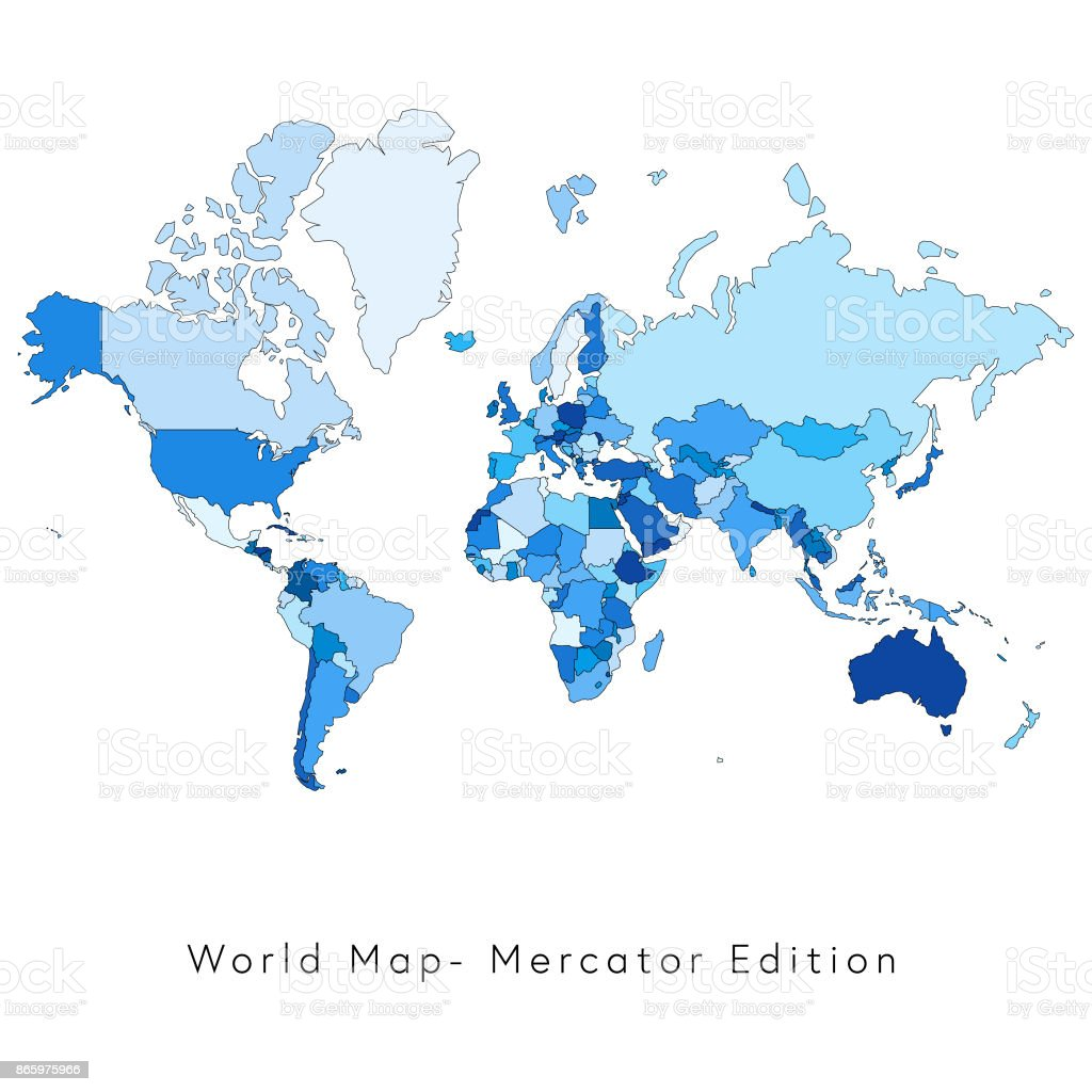 World map mercator edition stock vector art more images of africa world map mercator edition royalty free world map mercator edition stock vector art amp gumiabroncs Choice Image