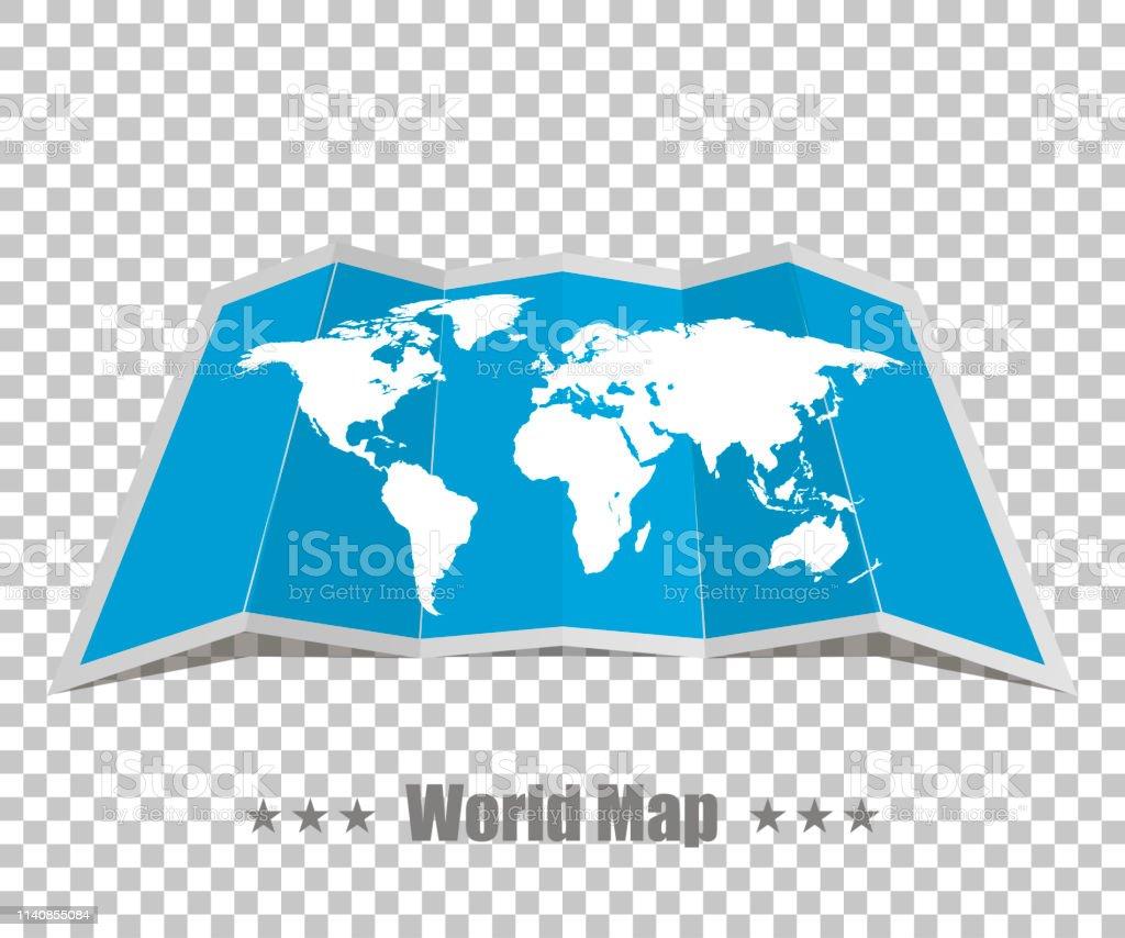 Carte Du Monde Realiste.Carte Du Monde Realiste Sur Un Fond Isole Vecteurs Libres De
