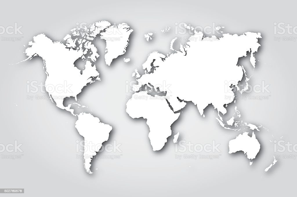 World map silhouette white stock vector art more images of 2015 world map silhouette white royalty free world map silhouette white stock vector art amp gumiabroncs Gallery
