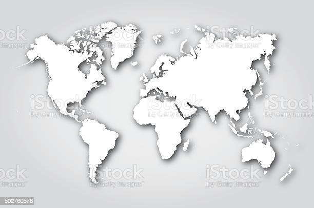 Free world map white Images, Pictures, and Royalty-Free ...