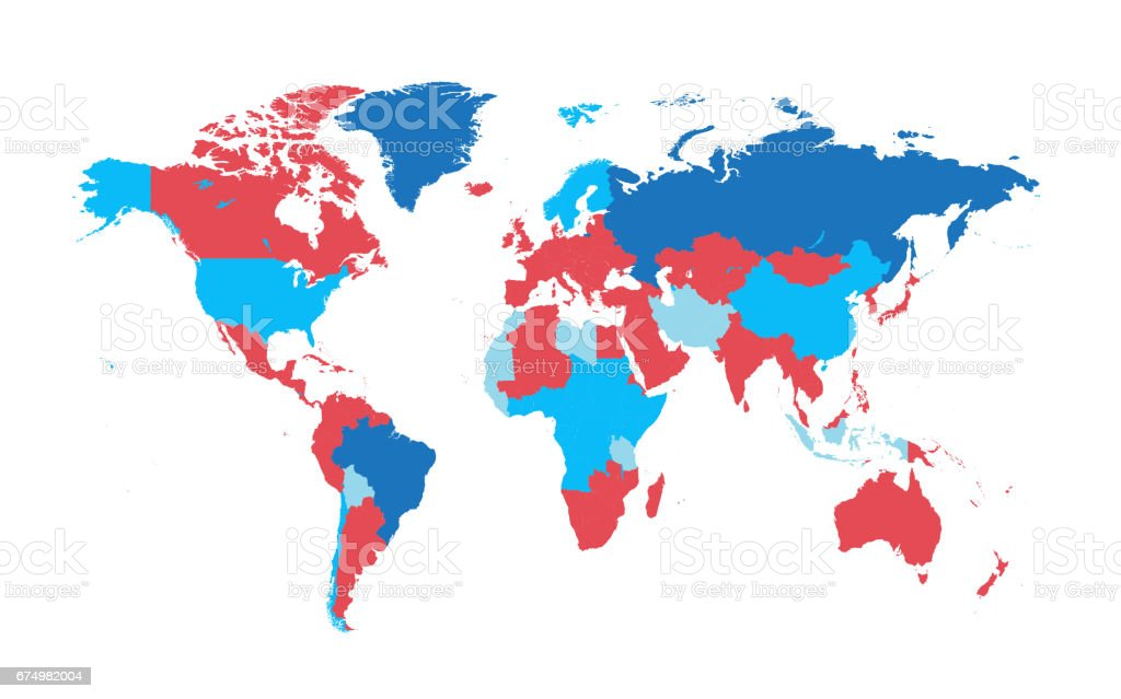 World map vector flat design stock vector art more images of world map vector flat design royalty free world map vector flat design stock vector art gumiabroncs Gallery