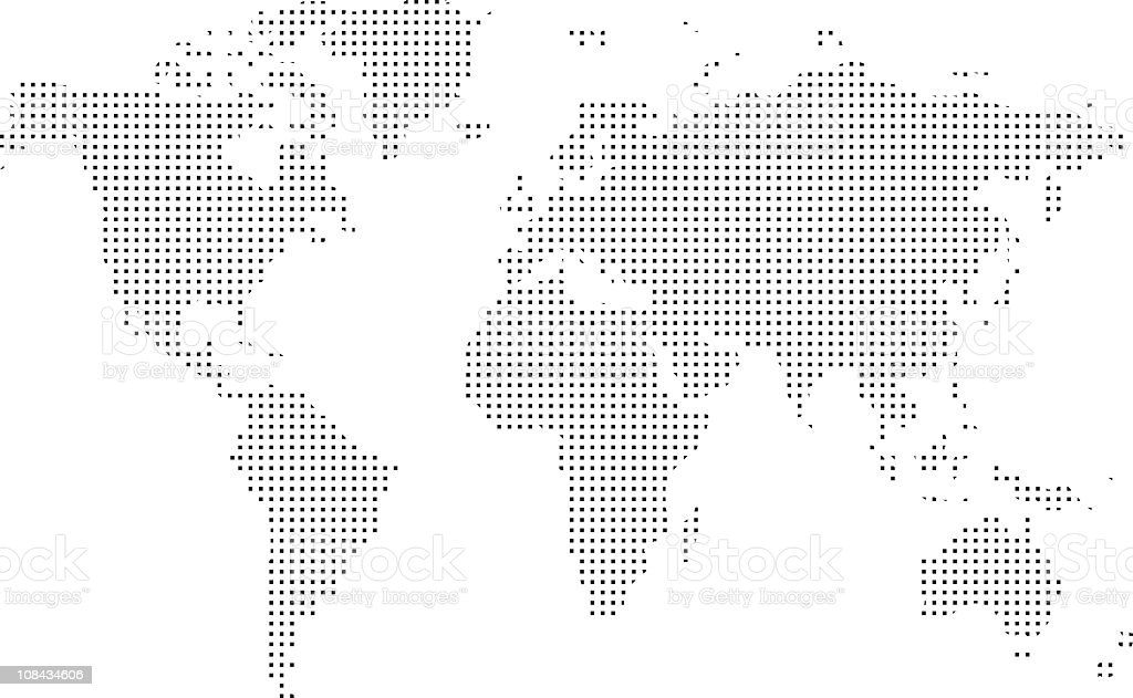 World Map royalty-free world map stock vector art & more images of australia