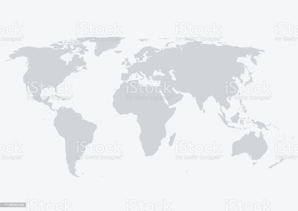 World Map - Royalty-free América do Sul arte vetorial