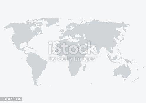 istock World Map 1129202445
