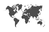 istock World Map 1220187238