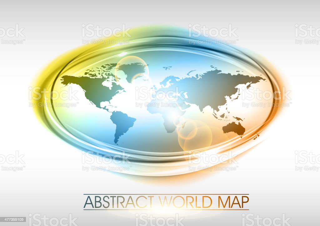 world map royalty-free world map stock vector art & more images of abstract