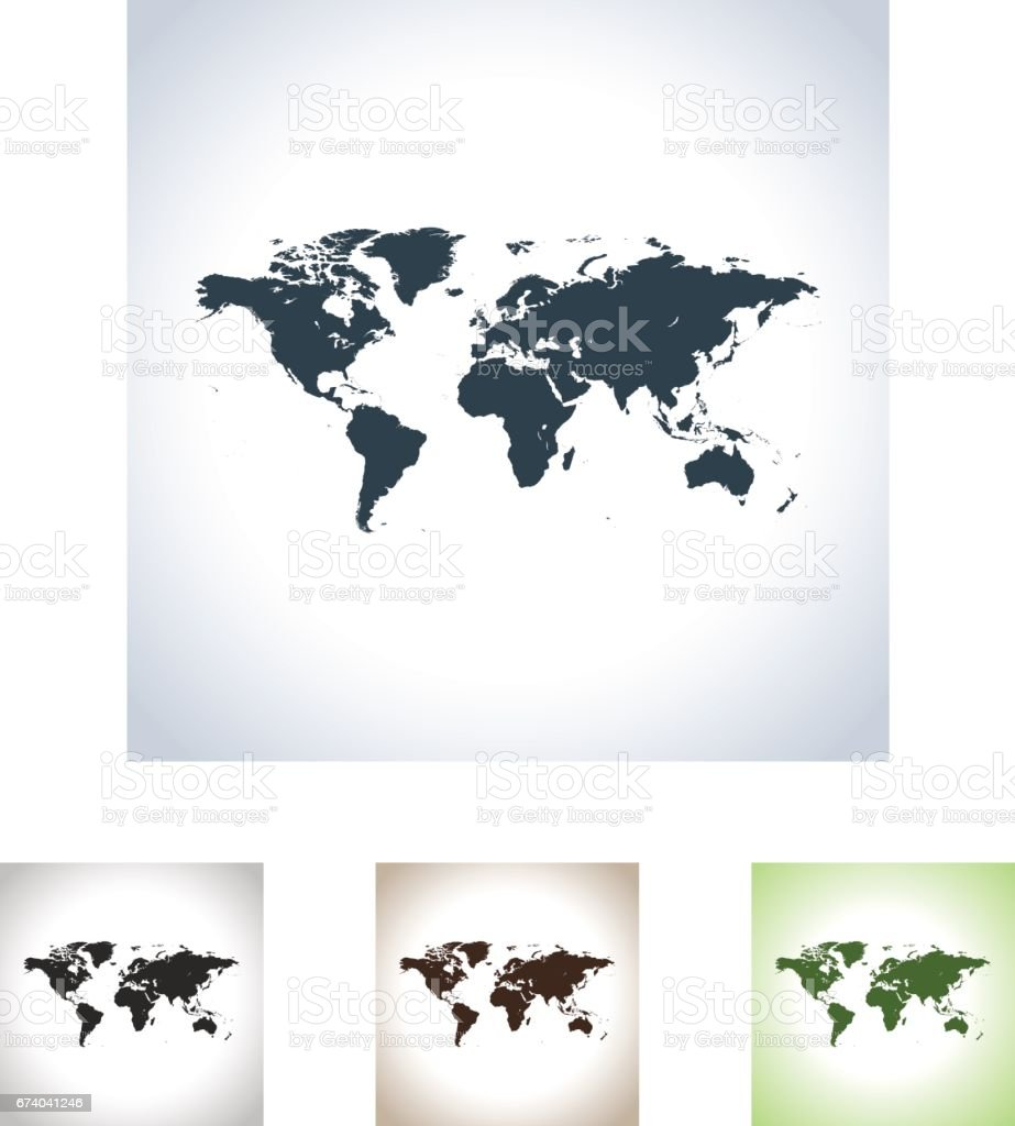 world map royalty-free world map stock vector art & more images of africa