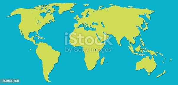 istock World map 808502708