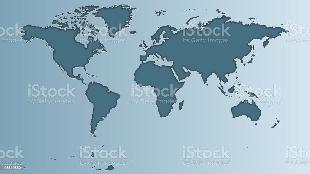 World Map 1933.World Map Stock Vector Art More Images Of Abstract 938193304 Istock