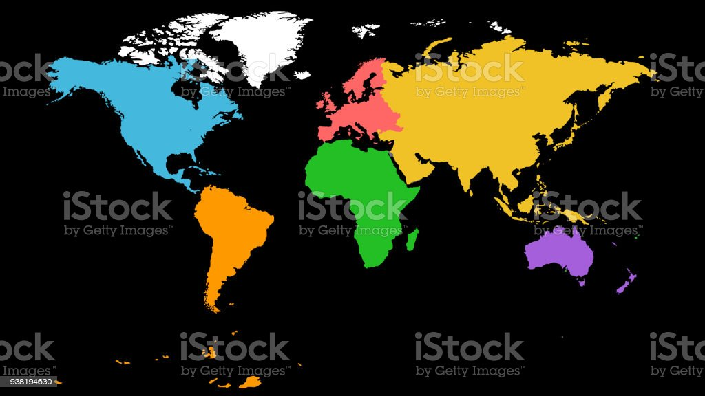 World Map Stock Vector Art & More Images of Abstract - iStock