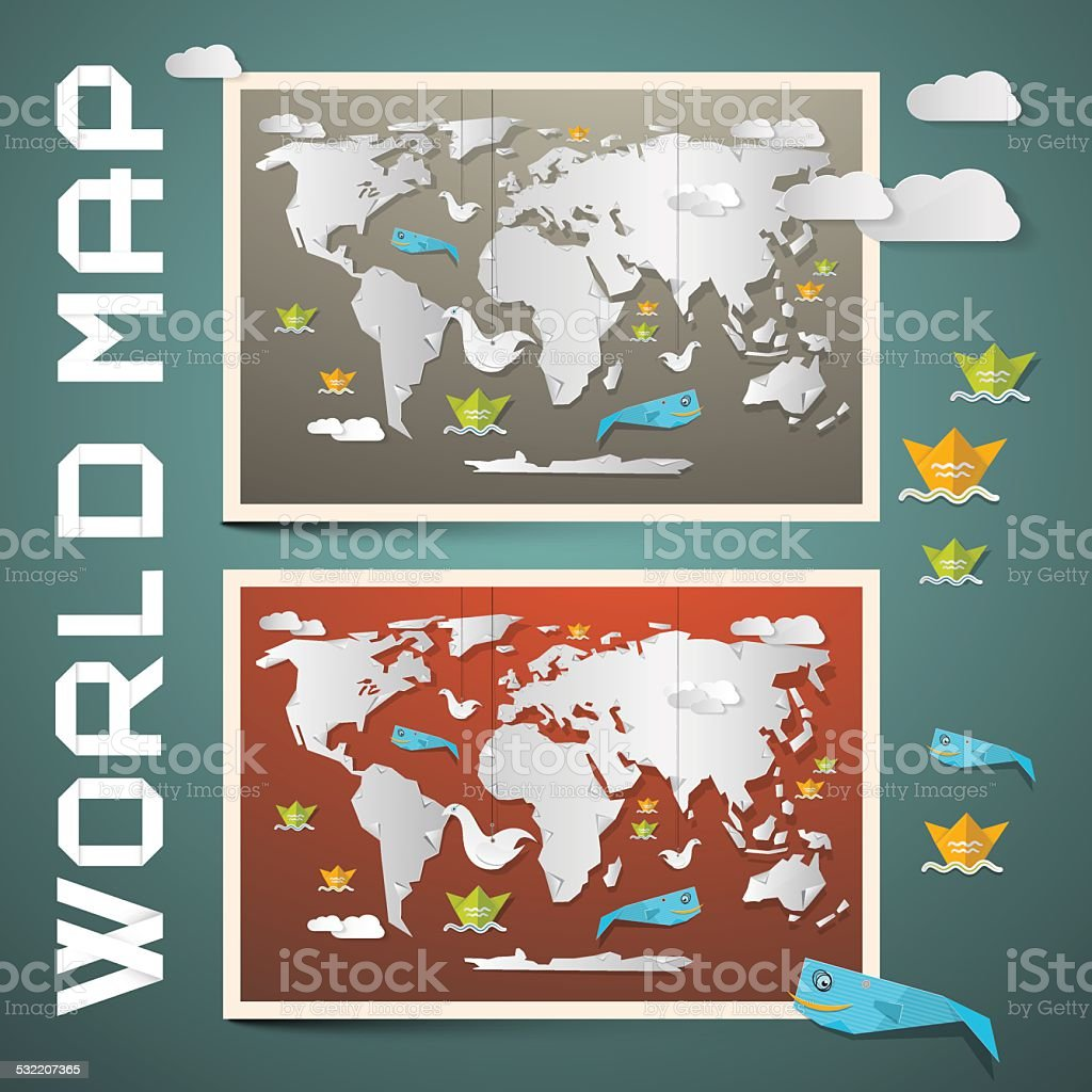World map vector set stock vector art more images of 2015 banner sign globe navigational equipment internet map nautical vessel world map vector gumiabroncs Choice Image