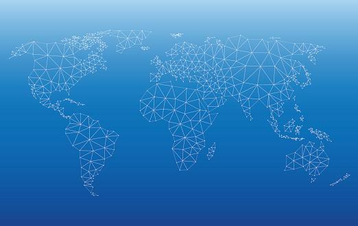 World Map Web