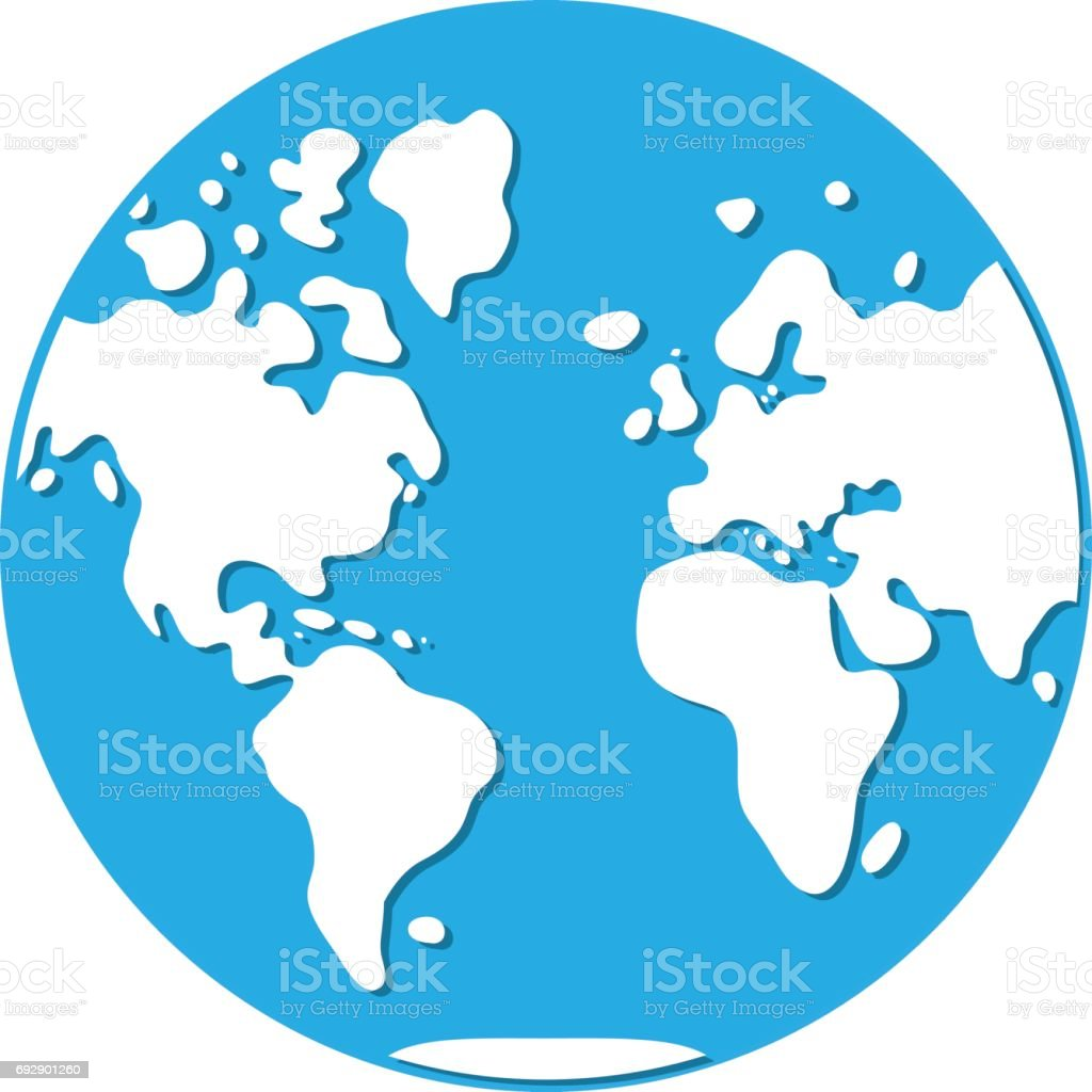 World map western hemisphere globe icon stock vector art more world map western hemisphere globe icon royalty free world map western hemisphere globe icon gumiabroncs
