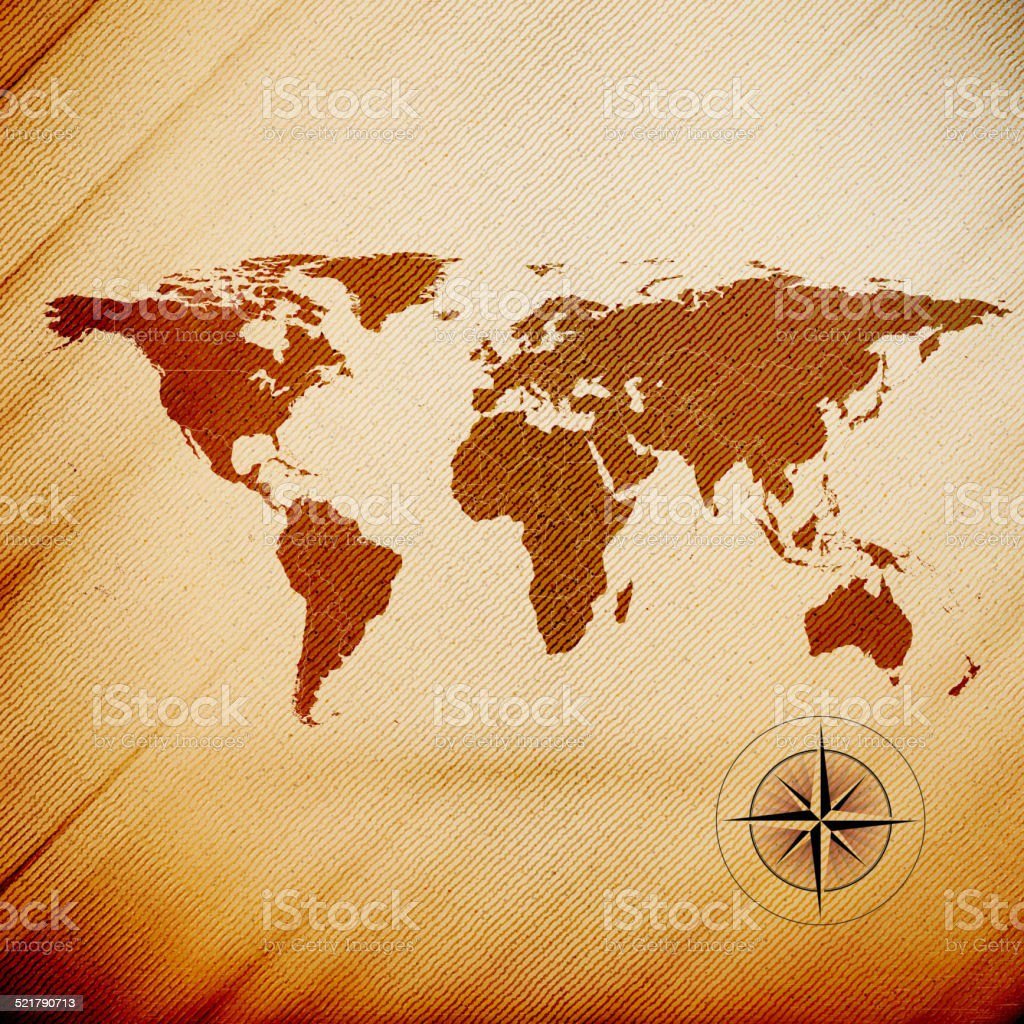 World map wooden design texture vector illustration stock vector art material wood material africa asia australia world map gumiabroncs Image collections