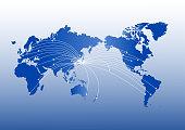 世界地図: 世界