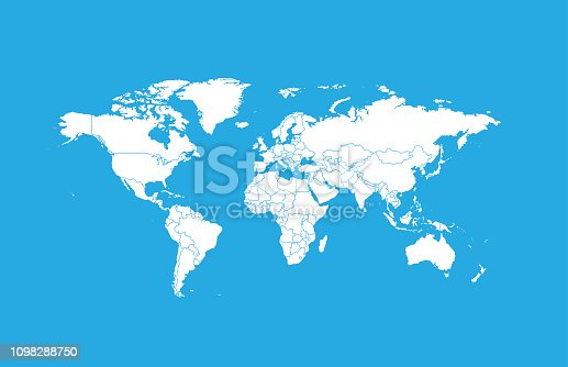 istock World map-countries 1098288750