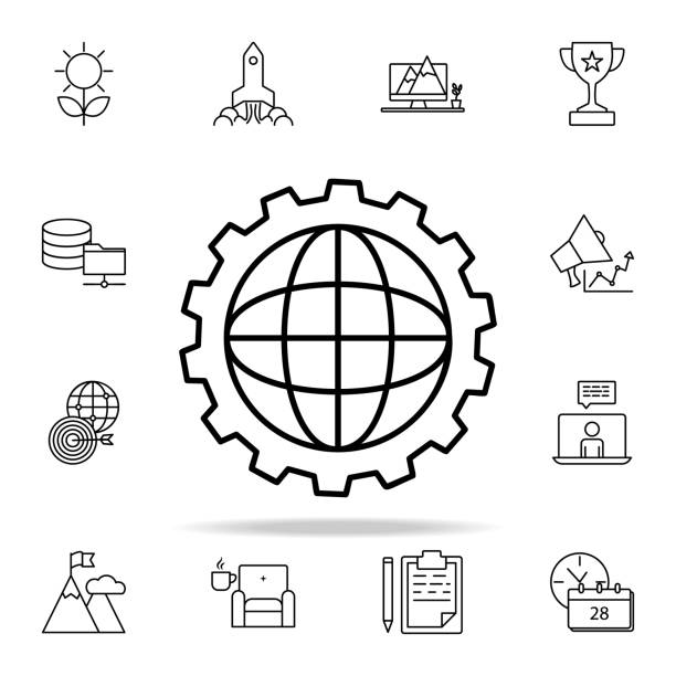 Royalty Free Electrical Blueprint Symbols Clip Art, Vector