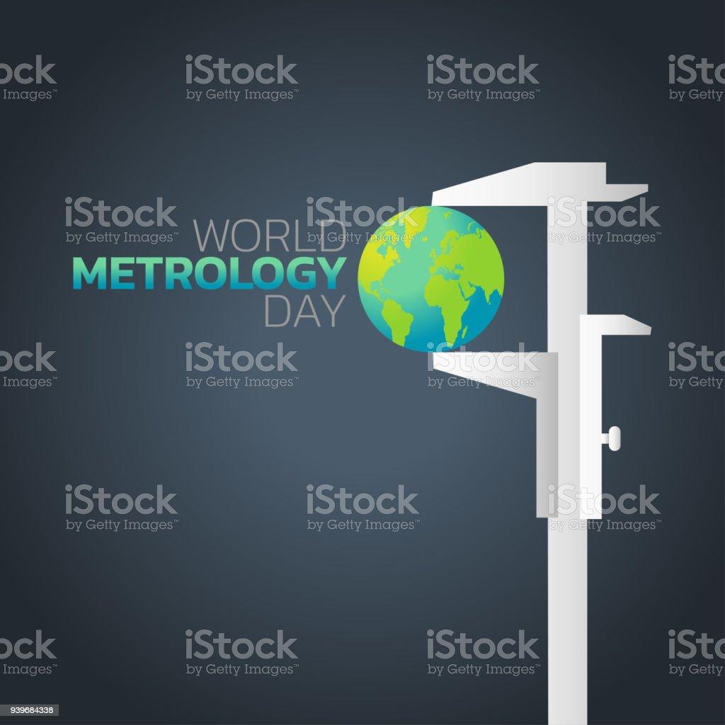 World Metrology Day logo icon design, vector illustration vector art illustration