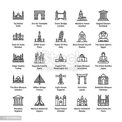 istock World Monuments 1183698835