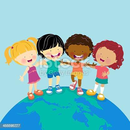 istock World Multi-Ethnic Kids 455595227