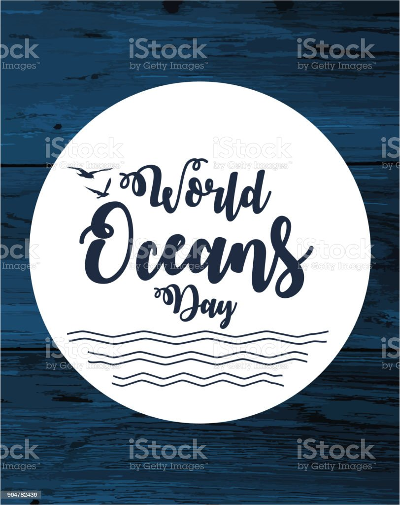 World Oceans Day royalty-free world oceans day stock vector art & more images of abstract