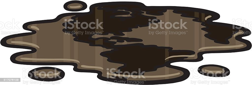 World Oil vector art illustration
