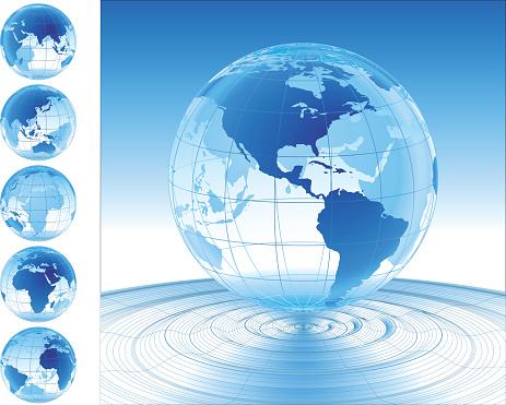 Welt Auf Dem Wasser Stock Vektor Art und mehr Bilder von Auf dem Wasser treiben