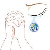 World Peace - Praying in Tears