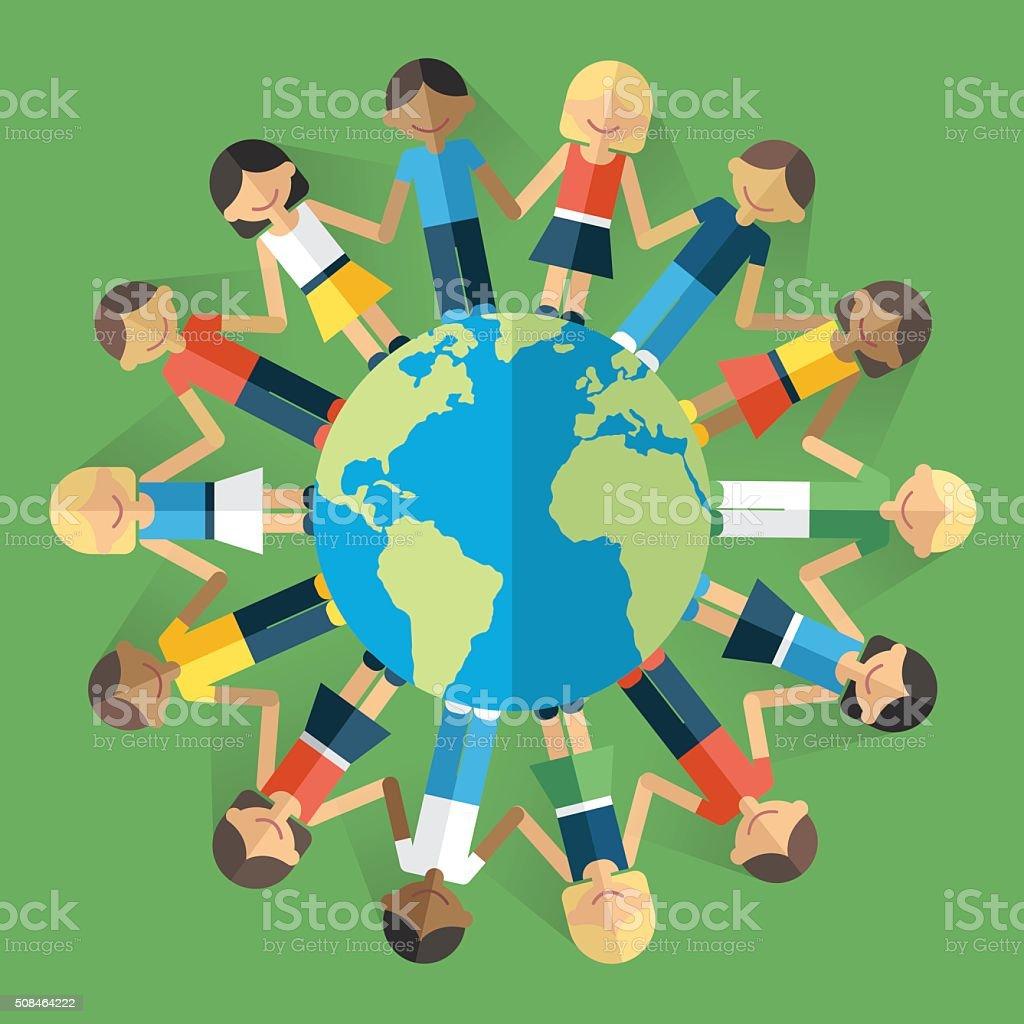 「世界 つながり フリー素材」の画像検索結果