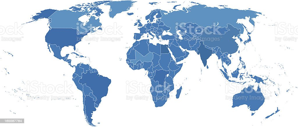 World political map royalty-free world political map stock vector art & more images of accuracy