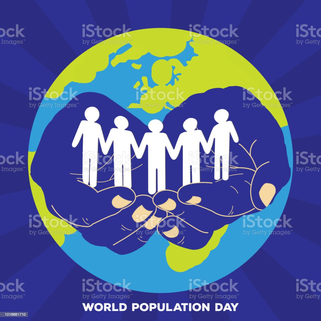 World Population Day Stock Illustration - Download Image Now