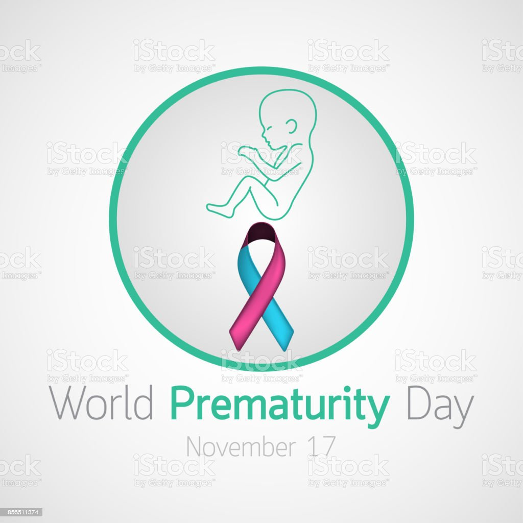 World Prematurity Day vector icon illustration vector art illustration