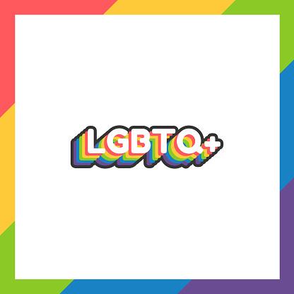 World pride day sticker LGBTQ+