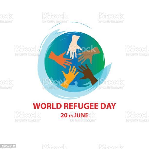 World refugee day vector id695025486?b=1&k=6&m=695025486&s=612x612&h=dyyoax0mkd ruw kc3cyevyho9sl6fleppz5n2fkdds=