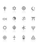 World Religions | BW Icons