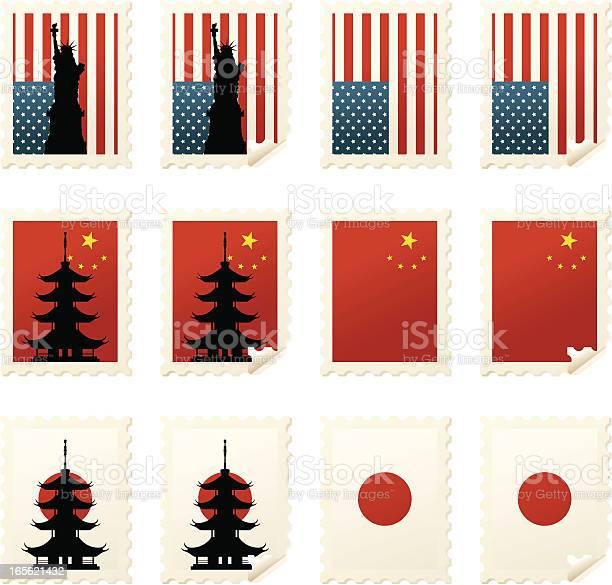 World stamps asia usa vector id165621432?b=1&k=6&m=165621432&s=612x612&h= onil6ac9gatbjildguwomk2mj4mun9el oyznadry4=