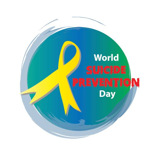 World Suicide Prevention Day World Suicide Prevention Day suicide stock illustrations