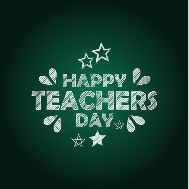 World Teacher Day Vector Design Template vector art illustration