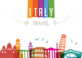 World Travel and Famous Locations - Italy
