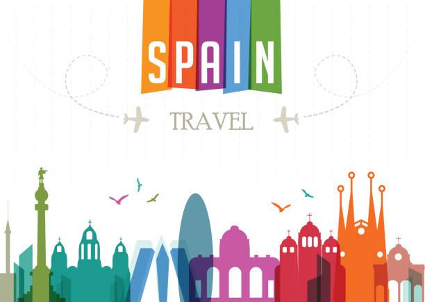 ilustrações de stock, clip art, desenhos animados e ícones de viagens e famosos locais-espanha - ibiza