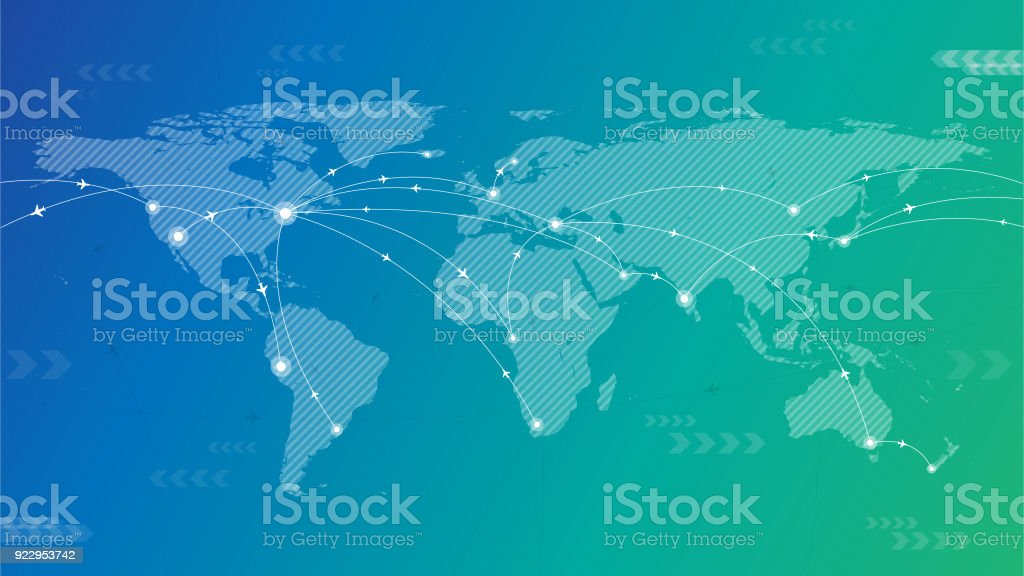 World travel background royalty-free world travel background stock vector art & more images of adventure