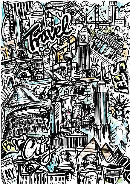 ilustrações, clipart, desenhos animados e ícones de world travel desenho - mapa do oriente médio