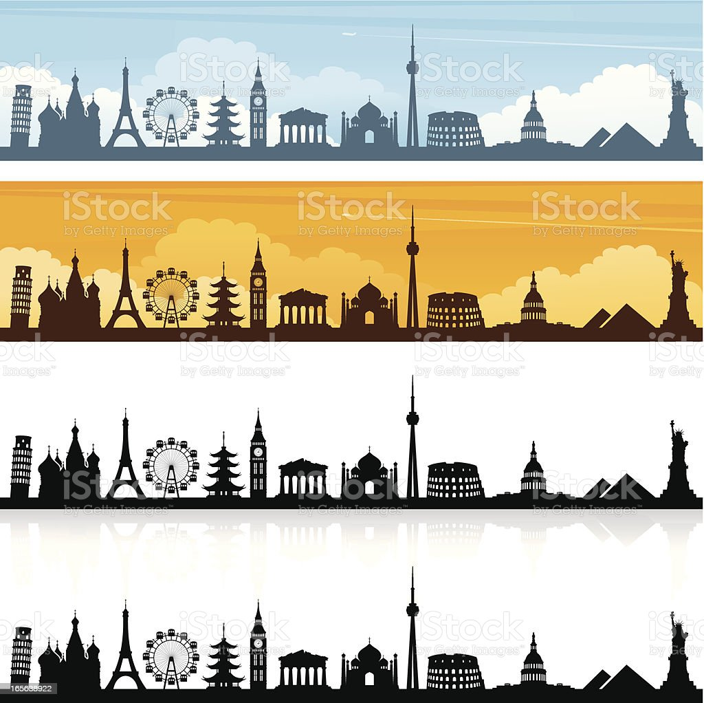 World Travel royalty-free stock vector art