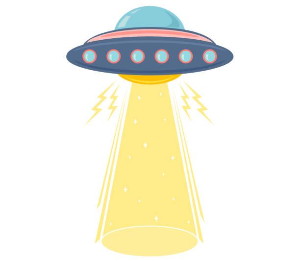 stockillustraties, clipart, cartoons en iconen met wereld ufo dag - ufo