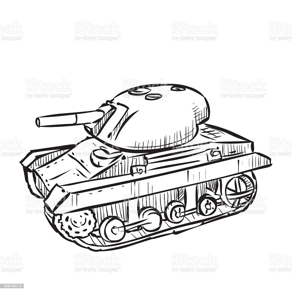 world war 2 american light tank m22 locust hand drawn stock vector With 2013 BMW 550I M Sport Package world war 2 american light tank m22 locust hand drawn royalty free world war