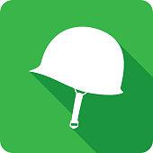 istock World War 2 Helmet Icon Silhouette 1140666836